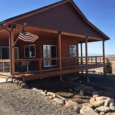 Colorado Ranch with Cable Railing